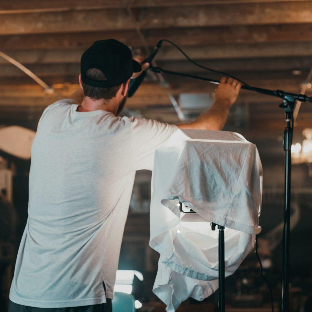 DIY Vancouver Video Production Studio Lights | vancouver video production, video production company, wedding videography vancouver, vancouver video production companies
